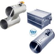 Оборудование для систем с переменным (VAV) и постоянным (CAV) расходом воздуха