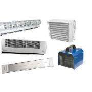 Воздушные завесы, тепловентиляторы, ИК-обогреватели
